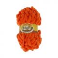 """Пряжа """"Fantasy Luxe"""" цв. 13 оранжевый 100% полиэстер 5х100гр / 39м """"Adelia"""" (Австралия)"""