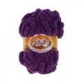 "Пряжа ""Fantasy Luxe"" цв. 16 фиолетовый 100% полиэстер 5х100гр / 39м ""Adelia"" (Австралия)"