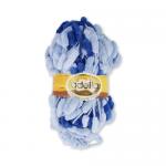"Пряжа ""Fantasy Luxe Print"" цв. 10 св.голубой-синий 100% полиэстер 5х100гр / 39м ""Adelia"" (Австралия)"