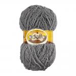 "Пряжа ""Sofia"" цв. 41 серый 100% полиэстер 50гр / 90м ""Adelia"" (Австралия)"