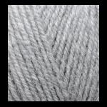 "Пряжа ""Alpaca Royal"" цв. 021 св-серый меланж  30% альпака 15% шерсть 55% акрил 5х100гр / 280м ""Alize"" (Турция)"