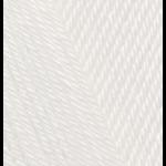 "Пряжа ""Diva Baby"" цв. 1055 сахарно-белый 100% микрофибра акрил 5х100гр / 350м ""Alize"" (Турция)"