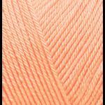 """Пряжа """"Diva Baby"""" цв. 282 св. персиковый 100% микрофибра акрил 5х100гр / 350м """"Alize"""" (Турция)"""