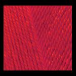 """Пряжа """"Miss"""" цв. 056 красный 100% мерсеризованный хлопок 5х50гр / 280м """"Alize"""" (Турция)"""