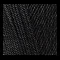 """Пряжа """"Miss"""" цв. 060 черный 100% мерсеризованный хлопок 5х50гр / 280м """"Alize"""" (Турция)"""