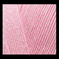 """Пряжа """"Miss"""" цв. 170 розовый 100% мерсеризованный хлопок 5х50гр / 280м """"Alize"""" (Турция)"""