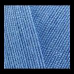 "Пряжа ""Miss"" цв. 303 синий электрик 100% мерсеризованный хлопок 5х50гр / 280м ""Alize"" (Турция)"