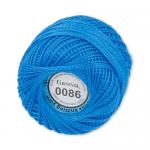 "Пряжа ""Ирис"" цв. 0086 яр. синий 100% хлопок  10 х 10гр / 82м""Gamma"""