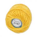"""Пряжа """"Ирис"""" цв. 3197 т. жёлтый 100% хлопок  10 х 10гр / 82м""""Gamma"""""""