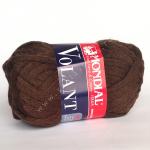 "Пряжа ""Volant"" коричневая 30м/50гр 100% акрил ""Mondial"" (Италия)"