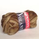 "Пряжа ""Volant Color"" темно-коричневая 30м/50гр 100% акрил ""Mondial"" (Италия)"