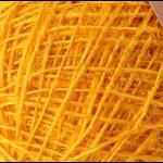 "Пряжа ""Аграмант"" цв. 012 желток 100% джут 5х100гр / 360м ""Пехорка"""