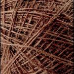 """Пряжа """"Аграмант"""" цв. 251 коричневая 100% джут 5х100гр / 360м """"Пехорка"""""""