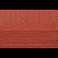 """Пряжа """"Акрил"""" цв. 344 красная глина 100% акрил 5х100гр / 300м """"Пехорка"""""""