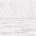 "Пряжа ""Ангорская тёплая"" цв. 001 белый 40% шерсть 60% акрил 5х100гр / 480м ""Пехорка"""