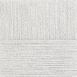 "Пряжа ""Ангорская тёплая"" цв. 008 св. серый 40% шерсть 60% акрил 5х100гр / 480м ""Пехорка"""