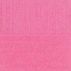 """Пряжа """"Ангорская тёплая"""" цв. 011 яр. розовый 40% шерсть 60% акрил 5х100гр / 480м """"Пехорка"""""""