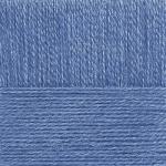 """Пряжа """"Ангорская тёплая"""" цв. 039 серо-голубой 40% шерсть 60% акрил 5х100гр / 480м """"Пехорка"""""""