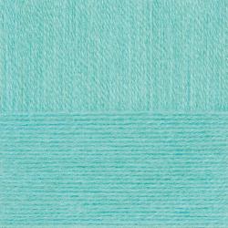 "Пряжа ""Ангорская тёплая"" цв. 411 мята 40% шерсть 60% акрил 5х100гр / 480м ""Пехорка"""