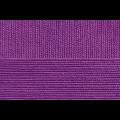 """Пряжа """"Австралийский меринос"""" цв. 567 темная фиалка 95% мериносовая шерсть 5% об. акрил 5х100гр / 400м """"Пехорка"""""""
