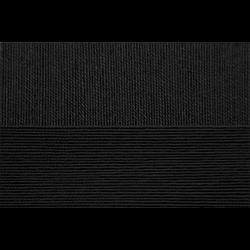 "Пряжа ""Ажурная"" цв. 002 чёрный 100% хлопок 10х50гр / 280м ""Пехорка"""