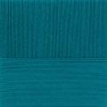"Пряжа ""Ажурная"" цв. 014 морская волна 100% хлопок 10х50гр / 280м ""Пехорка"""