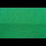 "Пряжа ""Ажурная"" цв. 480 яр. зелень 100% хлопок 10х50гр / 280м ""Пехорка"""