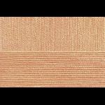 """Пряжа """"Бисерная"""" цв. 124 песочный 100% акрил 5х100гр / 450м """"Пехорка"""""""