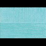 "Пряжа ""Бисерная"" цв. 222 голубая бирюза 100% акрил 5х100гр / 450м ""Пехорка"""