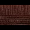 """Пряжа """"Кроссбред Бразилии"""" цв. 017 шоколад 50% мериносовая шерсть 50% акрил 5х100гр / 500м """"Пехорка"""""""