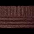 """Пряжа """"Деревенская"""" цв. 251 коричневый 100% шерсть 10х100гр / 250м """"Пехорка"""""""
