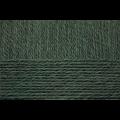 """Пряжа """"Деревенская"""" цв. 453 т. зелёный 100% шерсть 10х100гр / 250м """"Пехорка"""""""