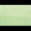 """Пряжа """"Детский каприз"""" цв. 041 салатовый 50% мериносовая шерсть 50% фибра 10х50гр / 225м """"Пехорка"""""""