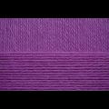 """Пряжа """"Детский каприз"""" цв. 078 фиолетовый 50% мериносовая шерсть 50% фибра 10х50гр / 225м """"Пехорка"""""""