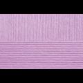 """Пряжа """"Детский каприз"""" цв. 179 фиалка 50% мериносовая шерсть 50% фибра 10х50гр / 225м """"Пехорка"""""""