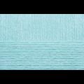 """Пряжа """"Детский каприз"""" цв. 222 голубая бирюза 50% мериносовая шерсть 50% фибра 10х50гр / 225м """"Пехорка"""""""