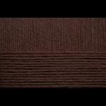 """Пряжа """"Детский каприз"""" цв. 251 коричневый 50% мериносовая шерсть 50% фибра 10х50гр / 225м """"Пехорка"""""""