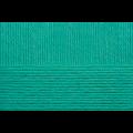 """Пряжа """"Детский каприз"""" цв. 335 изумруд 50% мериносовая шерсть 50% фибра 10х50гр / 225м """"Пехорка"""""""