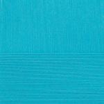 """Пряжа """"Детский каприз трикотажный"""" цв. 583 бирюза 50% мериносовая шерсть 50% фибра 5х50гр / 400м """"Пехорка"""""""
