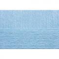 """Пряжа """"Детская объёмная"""" цв. 005 голубой 100% микрофибра 5х100гр / 400м """"Пехорка"""""""