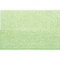 """Пряжа """"Детская объёмная"""" цв. 041 салатовый 100% микрофибра 5х100гр / 400м """"Пехорка"""""""