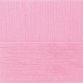 """Пряжа """"Детская объёмная"""" цв. 076 розовый бутон 100% микрофибра 5х100гр / 400м """"Пехорка"""""""