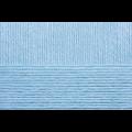 """Пряжа """"Детский каприз тёплый"""" цв. 005 голубой 50% мериносовая шерсть 50% фибра 10х50гр / 125м """"Пехорка"""""""