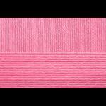 """Пряжа """"Детский каприз тёплый"""" цв. 011 яр. розовый 50% мериносовая шерсть 50% фибра 10х50гр / 125м """"Пехорка"""""""