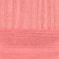 """Пряжа """"Детский каприз тёплый"""" цв. 1128 красный коралл 50% мериносовая шерсть 50% фибра 10х50гр / 125м """"Пехорка"""""""