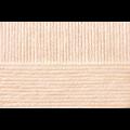 """Пряжа """"Детский каприз тёплый"""" цв. 442 натуральный 50% мериносовая шерсть 50% фибра 10х50гр / 125м """"Пехорка"""""""