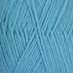 """Пряжа """"Джинсовый ряд"""" цв. 1124 голубой меланж 50% шерсть 50% акрил 10х100гр / 250м """"Пехорка"""""""