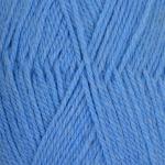 """Пряжа """"Джинсовый ряд"""" цв. 777 т. голубой меланж 50% шерсть 50% акрил 10х100гр / 250м """"Пехорка"""""""
