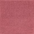 """Пряжа """"Элегантная"""" цв. 021 брусника 100% мериносовая шерсть 10х100гр / 250м """"Пехорка"""""""
