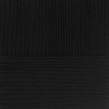 """Пряжа """"Элитная"""" цв. 002 чёрный 100% мериносовая шерсть 10х50гр / 415м """"Пехорка"""""""